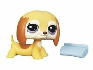 Littlest Pet Shop Single Figure #2529 Dachshund