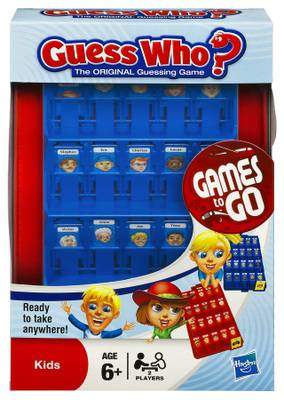 Hasbro Travel 'Guess Who ?' Board Game Puzzle