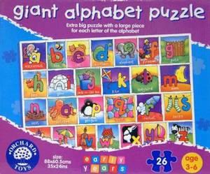 Orchard Toys Giant Alphabet 26 Piece Floor Puzzle