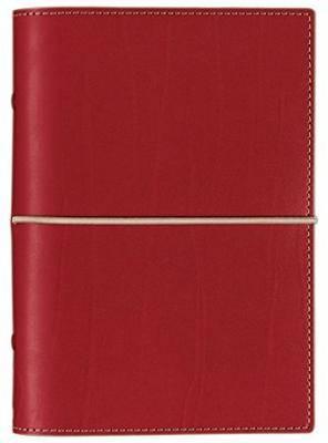 Filofax - Domino Personal Organiser - Red
