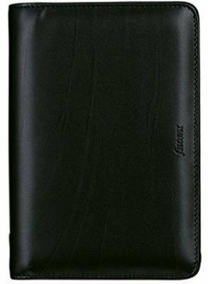 Filofax Metropol Personal Organiser Zip for Paper 95x171mm Personal Black Ref 026978