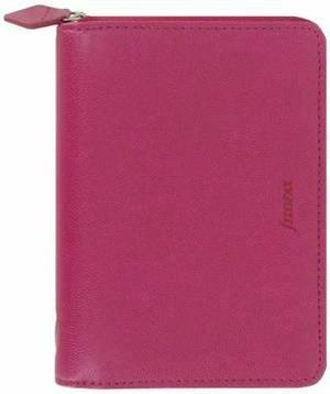 Filofax 028035 Pennybridge Pocket Size Zip Organizer Agenda Raspberry