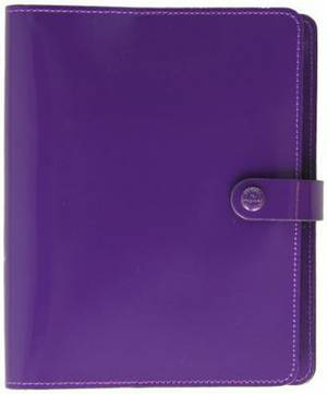 Filofax The Original Organiser Patent Purple A5 022441