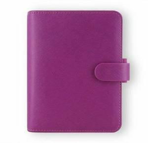Filofax Saffiano Raspberry Pocket Organizer - FF-022452