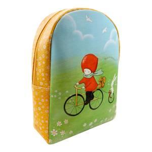 Santoro Poppi Loves Cycling Zipped Backpack