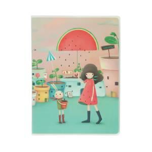 Santoro Kori Kumi A5 Journal - Melon Showers