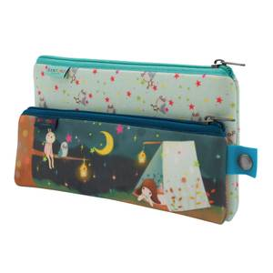 Santoro Kori Kumi Double Pencil Case Set- Starry Night