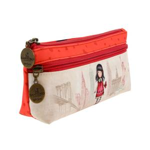 Santoro Gorjuss Cityscape Zipped Pencil Case - Time to Fly