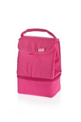 Everyday 2 Compartment Cooler Pink