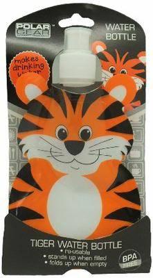 Polar Gear Foldable Water Bottle - Tiger