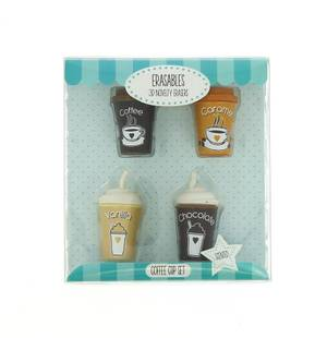 Blueprint Scented Coffee Cups Erasers