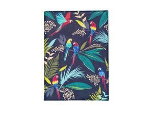 Blueprint Sara Miller A5 Parrot Fabric Journal