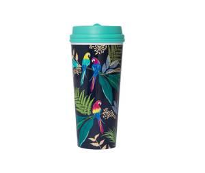 Blueprint Sara Miller Parrots Travel Mug
