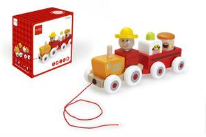 Scratch Europe Activity Tractor Charles
