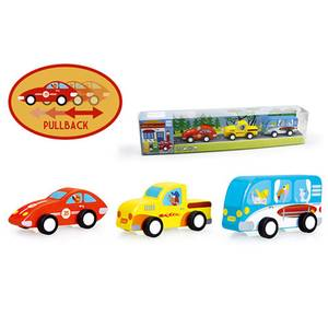 Scratch Europe Set Of 3 Pull-Back Cars
