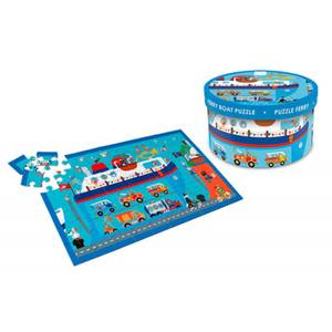 Scratch Europe Puzzle 60Pcs - Ferry Boat