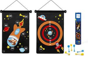Scratch Europe Magnetic Darts Game - Astronaut