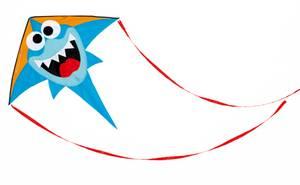 Scratch Europe Kite - Shark