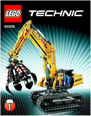 Magrudycom Lego Technic 42006 Excavator 720pcs