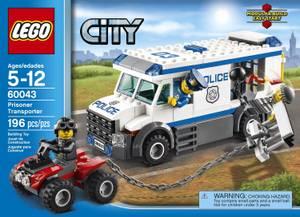 LEGO City 60043 Prisoner Transporter