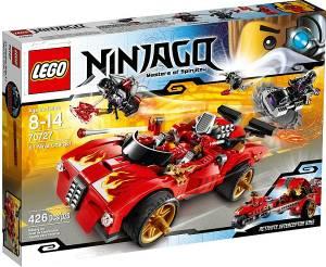Magrudycom Lego Ninja Go X 1 Ninja Charger 70727