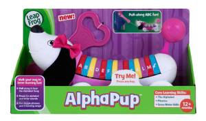 LeapFrog AlphaPup Toy, Pink