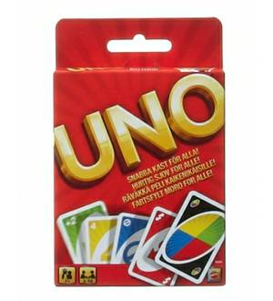 Uno- New Card Game Original By Mattel 2010