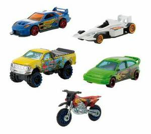 2011 Team Hot Wheels 5-Pack - GP-2009, 24/Seven, Ford Focus, HW450F, Ford F-150