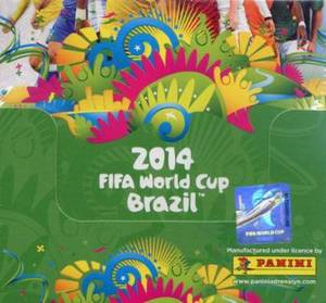 FIFA World Cup Brazil 2014 Adrenalyn Soccer Cards BOX 50 Packs (300 Cards) By PANINI