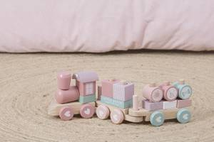 Little Dutch Wooden Train - Pink