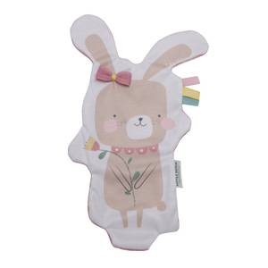 Little Dutch Bunny Crinkle Cuddle Cloth  - Pink
