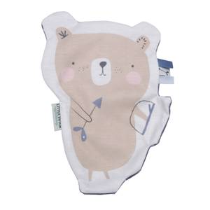 Little Dutch Bear Crinkle Cuddle Cloth - Blue