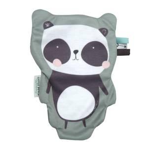 Little Dutch Panda Crinkle Cuddle Cloth - Mint
