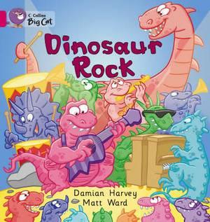 Dinosaur Rock: Band 01A/Pink A