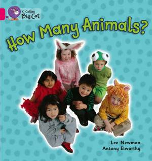 How Many Animals: Band 01a/Pink A