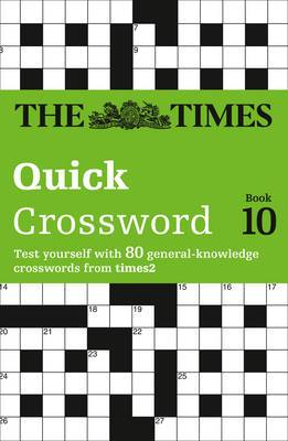 The Times T2 Crossword Book 10