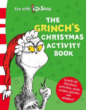 The Grinch's Christmas Activity Book (50th Birthday Edition)