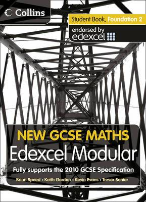 New GCSE Maths: Student Book Foundation 2: Edexcel Modular (B)