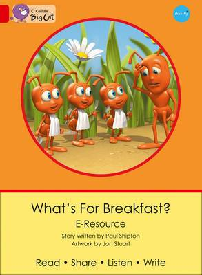 What's for Breakfast?: Band 02B/Red B (Collins Big Cat eResources)