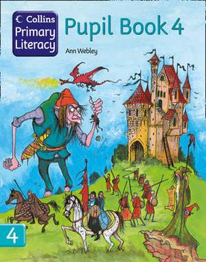 Collins Primary Literacy - Pupil Book 4: [For Pakistan]