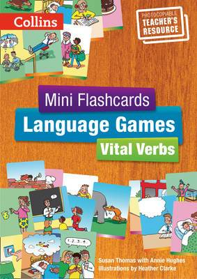 Mini Flashcards Language Games: Vital Verbs - Teacher's Book