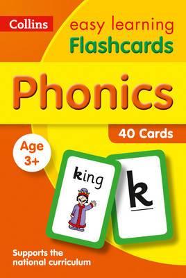 Phonics Flashcards (Collins Easy Learning Preschool)
