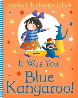 It Was You! Blue Kangaroo