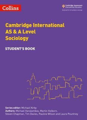 Collins Cambridge AS & A Level - Cambridge International AS & A Level Sociology Student's Book