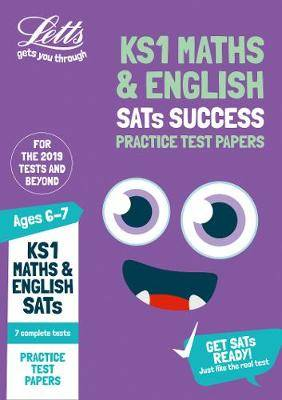 KS1 Maths and English SATs Practice Test Papers: for the 2020 tests (Letts KS1 SATs Success)