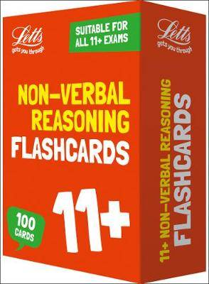 11+ Non-Verbal Reasoning Flashcards (Letts 11+ Success)