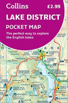 Lake District Pocket Map: The perfect way to explore the English lakes