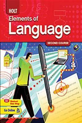 Elements of Language: Student Edition Grade 8 2009