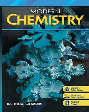 Modern Chemistry: Student One Stop CD-ROM with Interactive Online Edition 6-Year Bundle 2009
