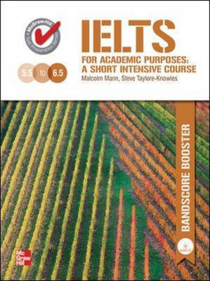 IELTS for Academic Purposes Bandscore Booster (workbook) with Audio CD